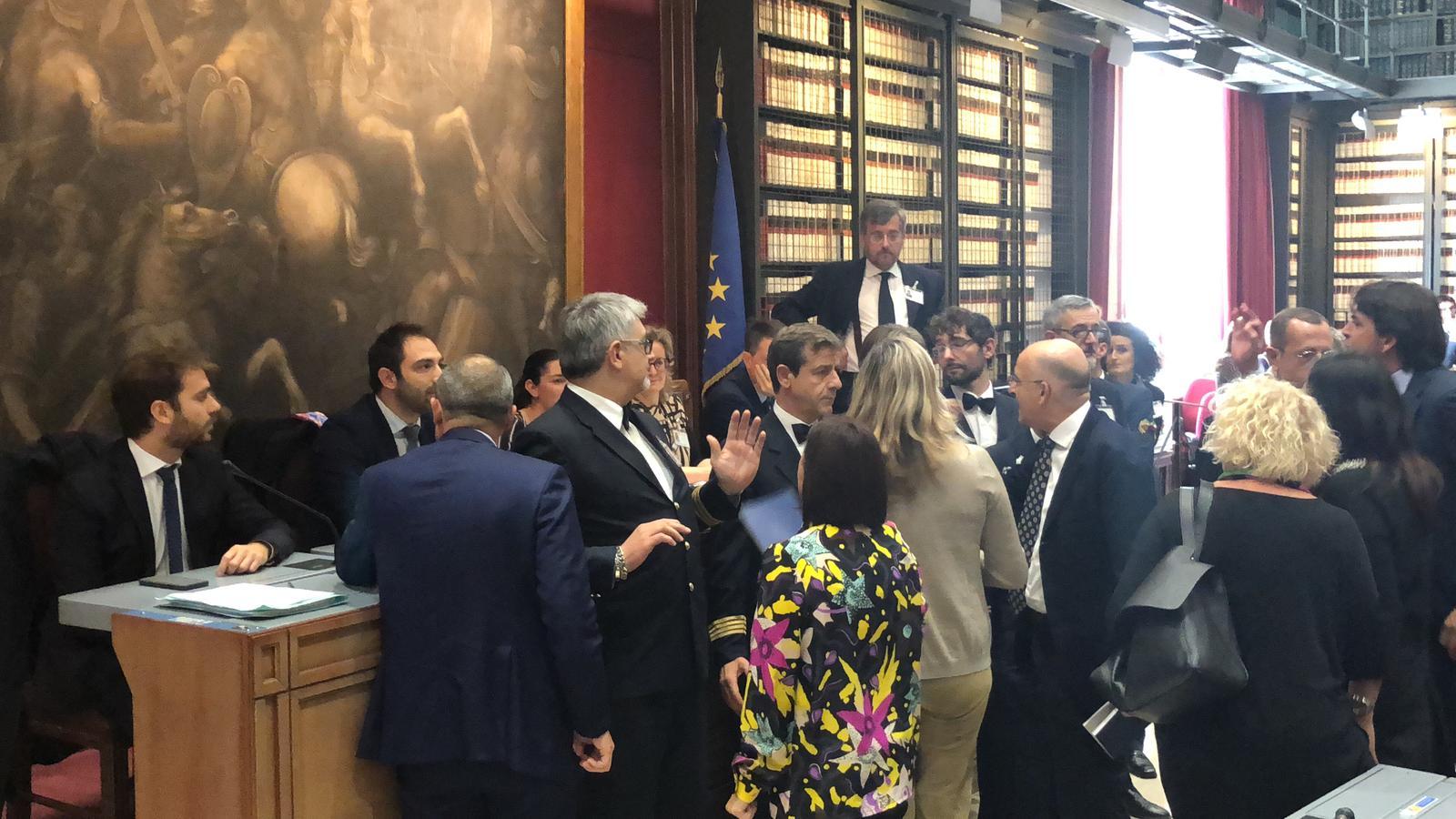 Prescrizione protesta di Fratelli dItalia