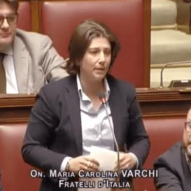 Carolina Varchi ricorda Beppe Alfano