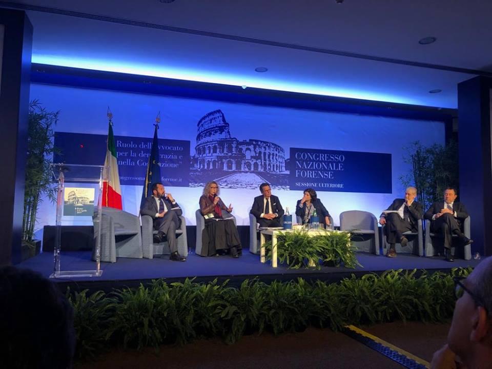 Congresso nazionale forenze Roma 5 aprile 2