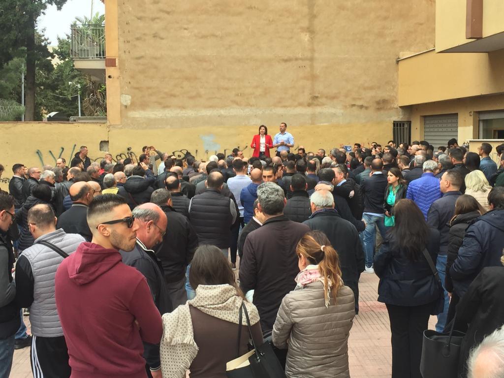 Incontro con gli elettori insieme a Franscesco Scarpinato Palermo 20 aprile 2019 2